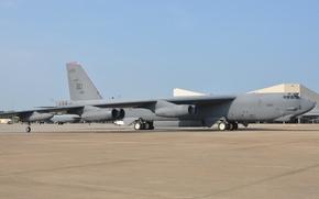 Картинка стратегический, бомбардировщик, ВВС США, Air Force Base, Barksdale, В-52