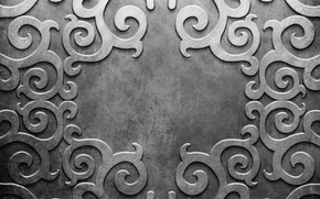 Картинка металл, узор, silver, metal, texture, background, pattern, steel, metallic