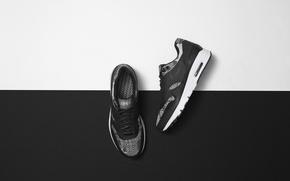 Картинка white, black, sneakers