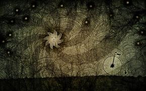 Картинка темнота, тьма, звезда
