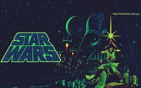 Обои star wars, дарт вейдер, звёздные войны