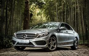 Обои Mercedes-Benz, мерседес, AMG, амг, C-Class, W205