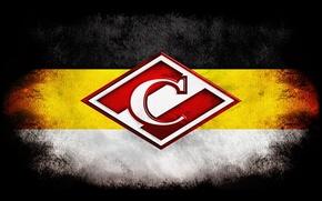 Картинка белый, желтый, черный, Москва, имперский флаг, Спартак, ромбик, народная команда, имперка