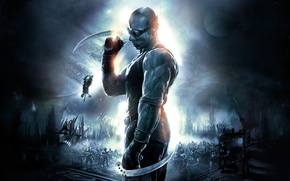 Картинка The Chronicles of Riddick, Хроники Риддика, Assault on Dark Athena, Вин Дизель