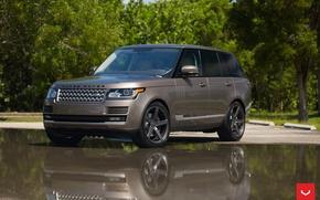 Картинка машина, авто, wheels, Land Rover, диски, auto, Vossen Wheels
