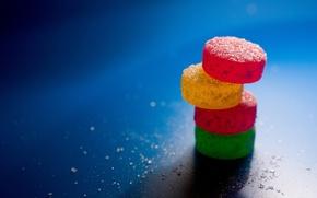Обои конфеты, 152, сладость, минимализм