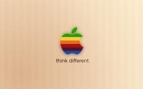 Картинка apple, Hi-Tech, яблочко