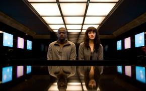 Картинка Bing, Netflix, Episode 2, Black Mirror, Season 1, Fifteen Million Merits, Daniel Kaluuya, Konnie Huq, …
