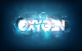 Обои oxygen, кислород, надпись