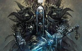Картинка доспехи, World of warcraft, орк, wow