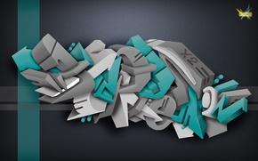 Картинка граффити, depression, photoshop, FireX