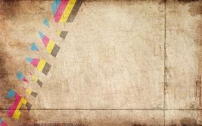 Обои полосы, текстура, надпись