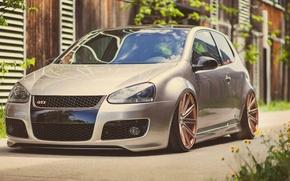 Картинка Volkswagen, Golf, GTI