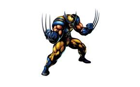Картинка Росомаха, Логан, Wolverine, Marvel, James Howlett, Джеймс Хоулетт