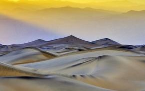 Картинка Калифорния, США, Долина Смерти, плоские песчаные дюны