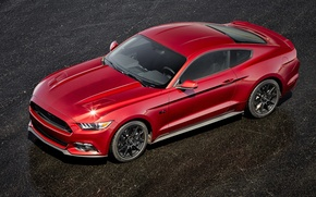 Картинка Mustang, Ford, мустанг, форд, 2015, Black Accent