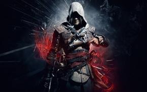 Картинка игра, эдвард, black flag, assassins creed 4