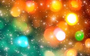 Картинка Новый год, new year, текстуры, texture, merry christmas, с Рождеством Христовым, красочные рождественские огни, colorful …