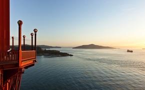 Картинка city, город, USA, California, San Francisco, Beautiful From Golden Gate