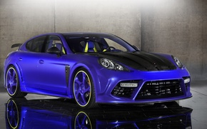 Обои Porsche, Тюнинг, Синяя