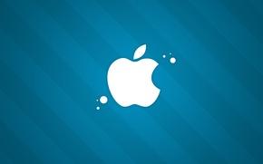 Обои яблоко, apple, компания, хай-тек