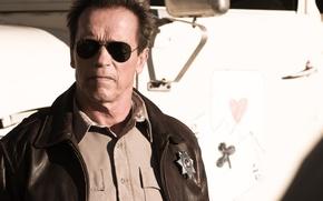 Обои мужик, Arnold Schwarzenegger, актер, Арнольд Шварценеггер, Возвращение героя, The Last Stand, шериф, Sheriff Ray Owens