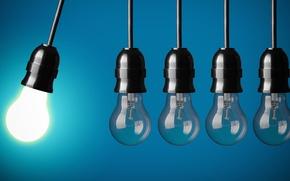 Картинка energy, off, light bulbs