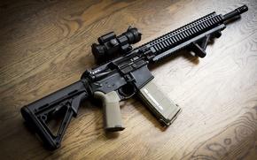 Картинка оружие, BCM, фон, AR-15, штурмовая винтовка, assault rifle