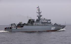 """Картинка Балтийское море, проект 12700, """"Александр Обухов"""", Базовый тральщик"""