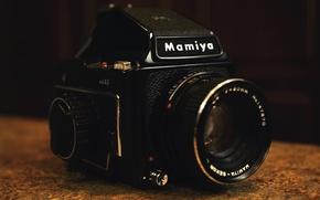 Картинка black, camera, photocamera, lens, optic, Japanese, Mamiya Digital Imaging, Mamiya