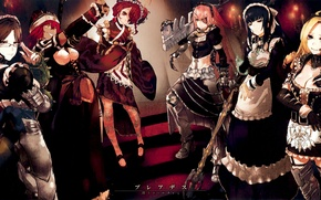 Картинка Overlord, ygdrasil, 20126, dive massively multiplayer online role playing game, dmmo-rpg, maid