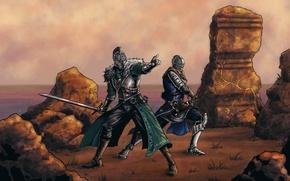 Картинка knights, Dark Souls 2, Namco Bandai Games, rpg, From Software, Majula