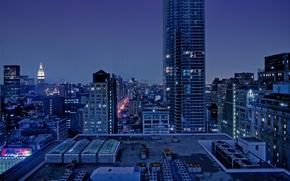Обои builds, дома, city, город, ночь, night, view, пейзаж