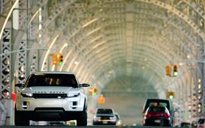 Обои тунель, rover, land