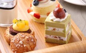 Картинка ягоды, пирожное, десерт