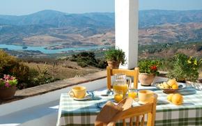 Картинка дом, отдых, вид, relax, терраса, view from front terrace Casa Rosina