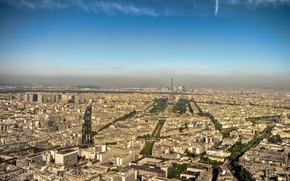 Обои Париж, 153, башня, дома