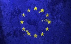Картинка звёзды, флаг, Европейский союз