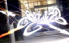 Картинка graffiti, style, night