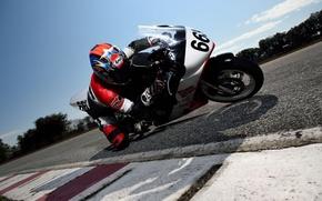 Картинка speed, pilot, motorbike, extreme sport
