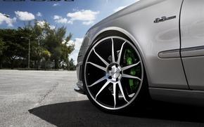 Картинка машина, авто, колесо, Mercedes Benz, auto, Black, Matte, Wheels, Concavo, CW-S5, E-500