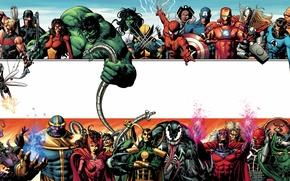 Картинка marvel, heroes, villains, encyclopedia