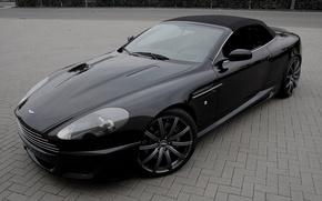 """Картинка Aston Martin, черный, DB9, black, Астон Мартин, ДБ9, 21"""""""