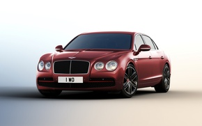 Обои Bentley, Flying Spur, бентли, Beluga, 2015