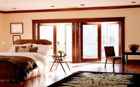 Картинка дизайн, дом, стиль, комната, вилла, интерьер, квартира, спальня