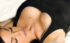 Картинка женщины, грудь