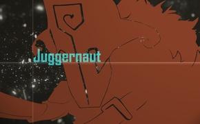 Картинка минимализм, силуэт, маска, арт, Dota 2, Juggernaut, Yurnero