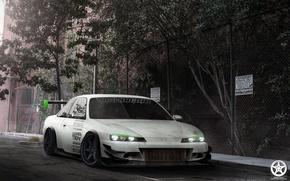 Картинка Nissan, auto, tuning, silvia, s14