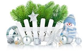 Картинка звезды, украшения, снежинки, праздник, шары, игрушки, Рождество, снеговик, star, holidays, balls, toy, Merry Christmas, holiday, …