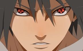 Картинка naruto, art, sasuke uchiha, mangekyou sharingan infinito, ilyesgnei